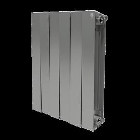 Радиатор PianoForte 500/Silver Satin - 8 секц.