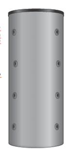 Буферная емкость без теплообменника PS ECO