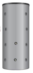Буферная емкость с теплообменником PS-GWT